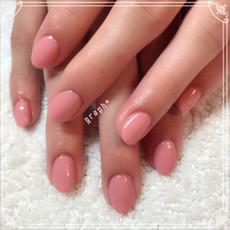 シンプルなピンクカラージェル