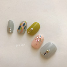 2018 spring nordic nail design
